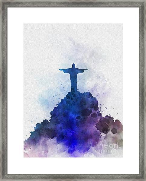 Christ The Redeemer Framed Print