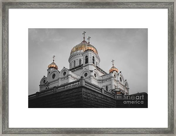Christ The Savior Cathedral Framed Print