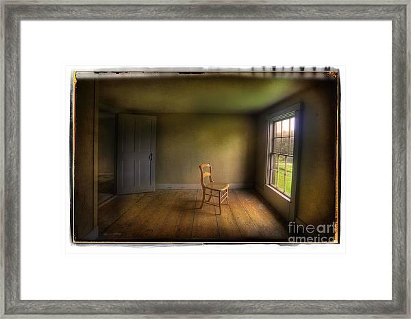 Christina's Room Framed Print