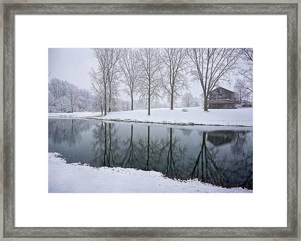 Winter Landsape Framed Print