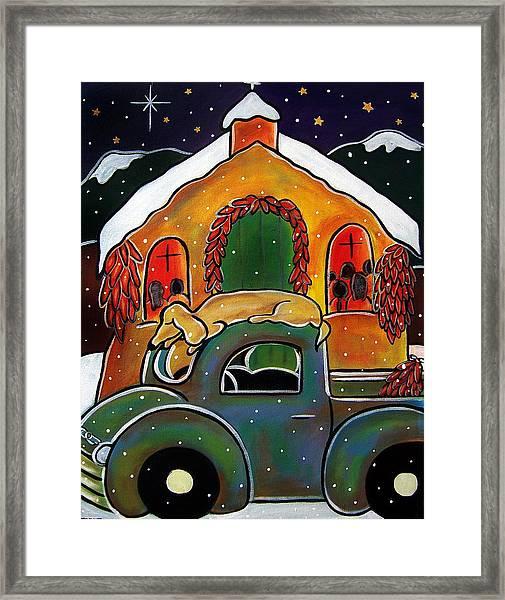Christmas Mass Framed Print