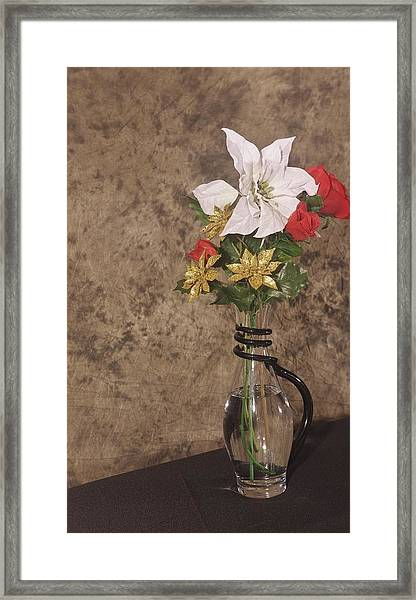 Christmas Pitcher Framed Print
