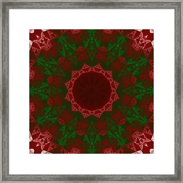 Christmas Quilt Framed Print