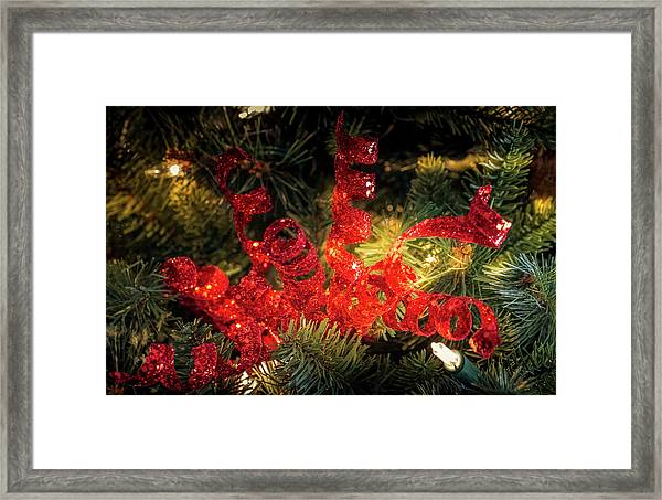 Christmas Red Framed Print