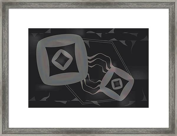 Chromoid Framed Print