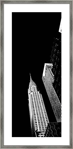 Chrysler Nights Framed Print