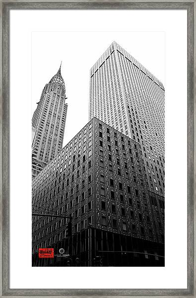 Chrystler Lofts Framed Print