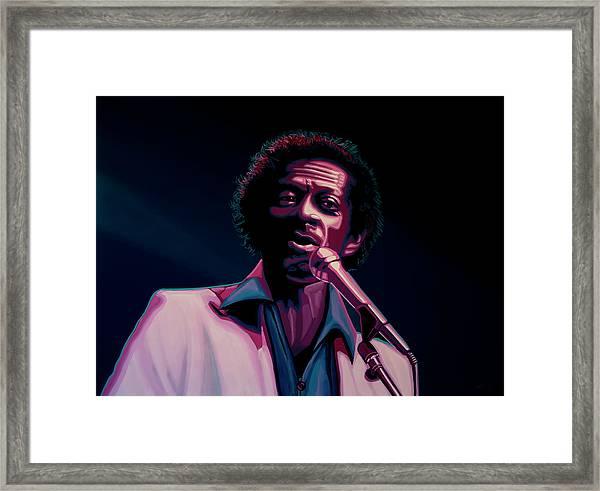 Chuck Berry Framed Print