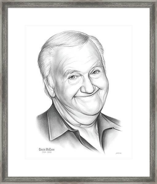 Chuck Mccann Framed Print