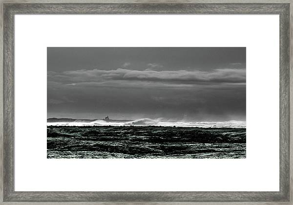 Church By The Sea Framed Print