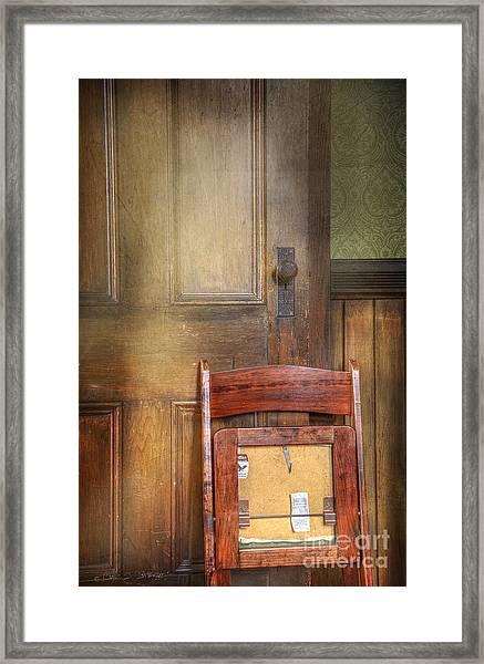 Church Chair Framed Print