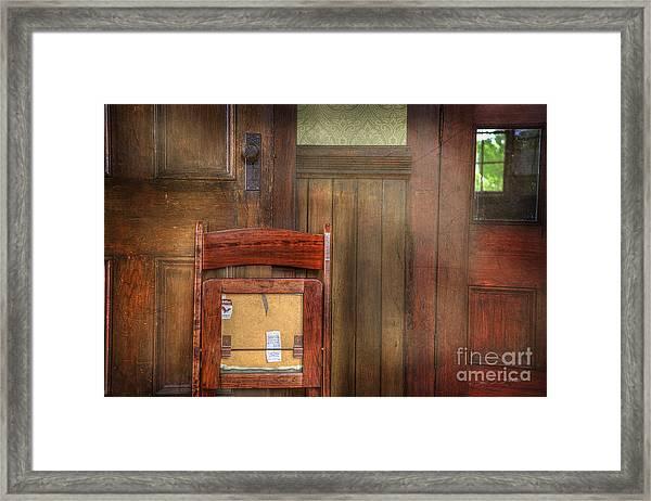 Church Chair II Framed Print