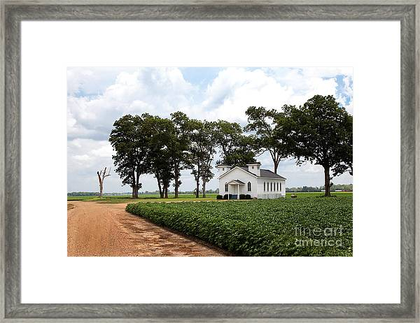 Church From The Help Movie In Mississippi Framed Print