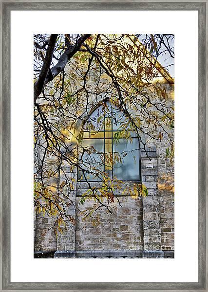 Church Ghost Framed Print