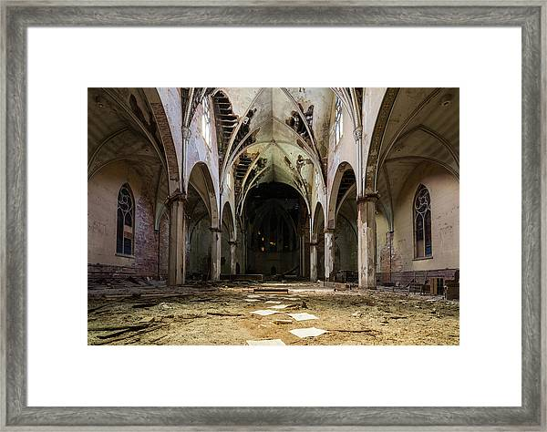 Church In Color Framed Print