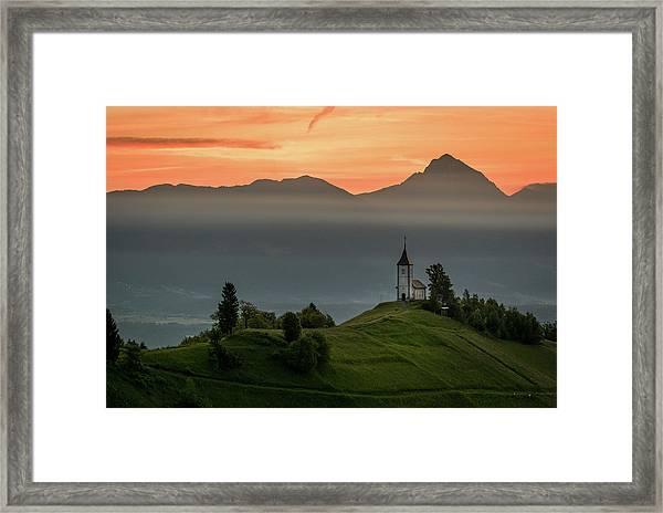 Church Jamnik Framed Print