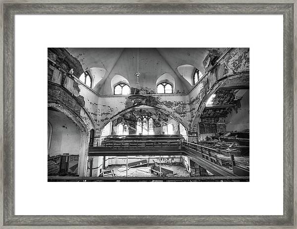 Church Murals Framed Print