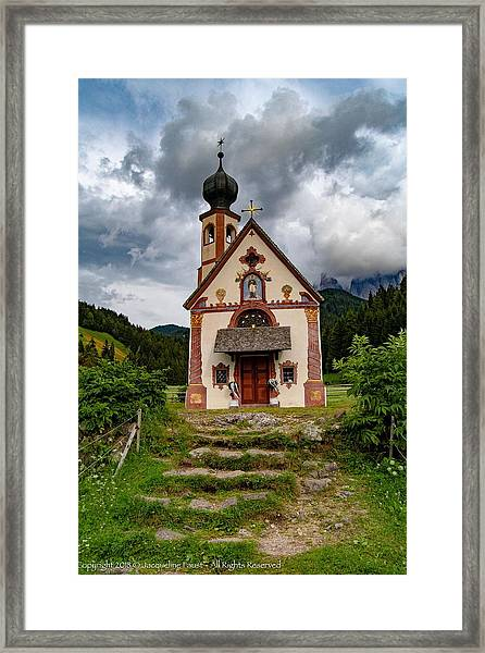 Church Of Saint Johann  Framed Print