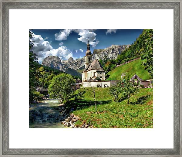 Church Of St. Sebastian Framed Print