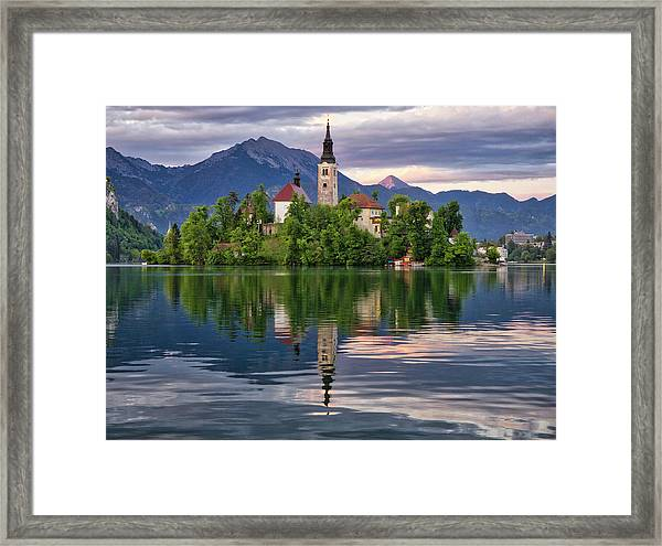 Church Of The Assumption. Framed Print