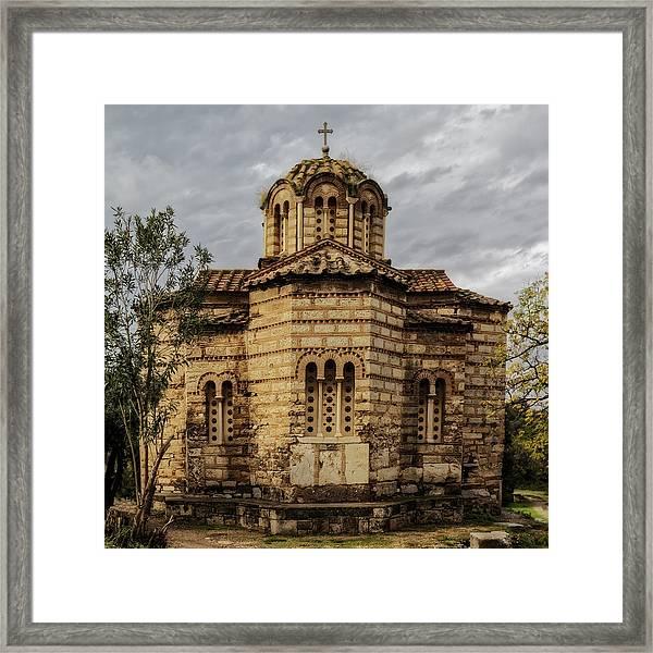 Church Of The Holy Apostles Framed Print
