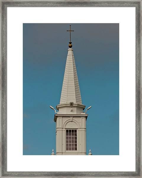 Church Steeple Framed Print