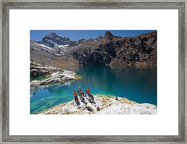 Churup Lake Framed Print