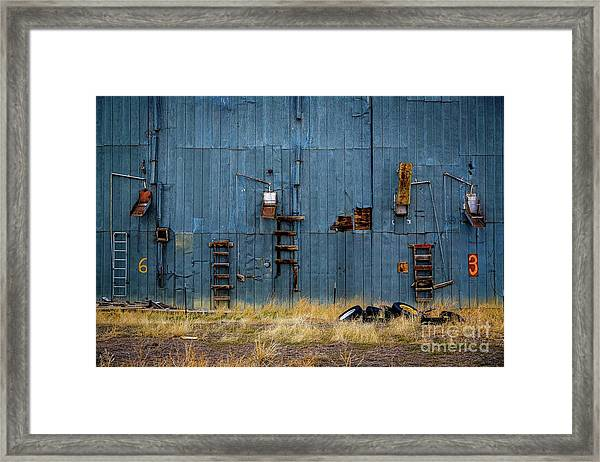 Chutes And Ladders Framed Print