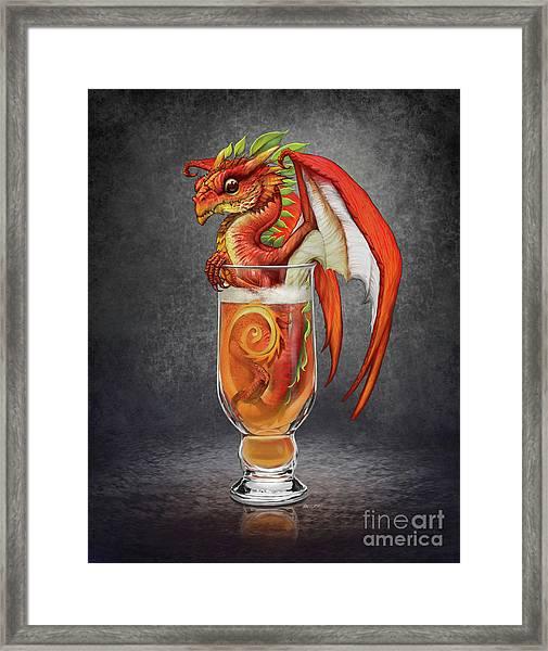 Cider Dragon Framed Print