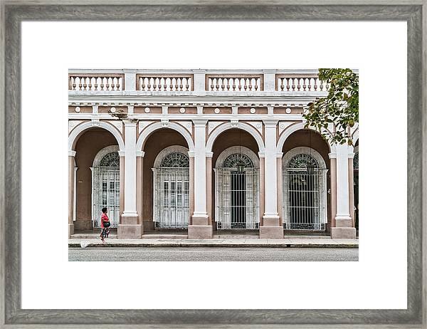 Cienfuegos Arches Framed Print