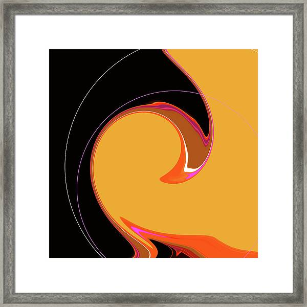 Framed Print featuring the digital art Summer Chic 1960 by Gina Harrison