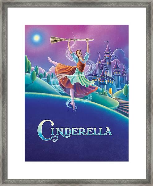 Cinderella Poster Framed Print