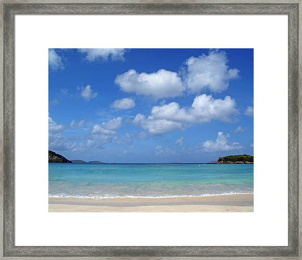 Cinnamon Bay 6 Framed Print