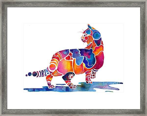 Cinnamon Cat Framed Print