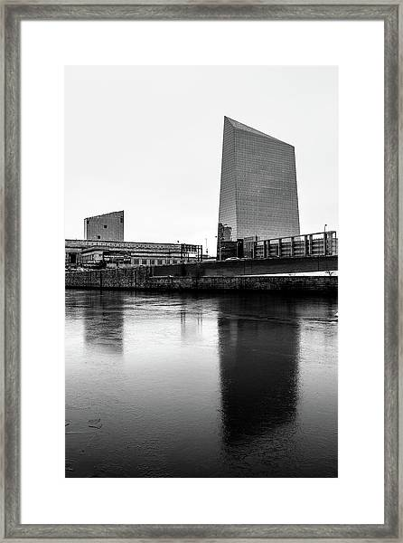 Cira Centre - Philadelphia Urban Photography Framed Print