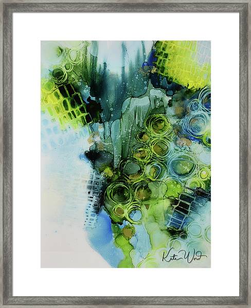 Circle Magic 1 Framed Print