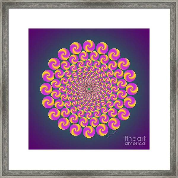Circles Circus Framed Print