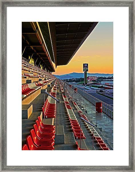 Circuit De Catalunya - Barcelona  Framed Print