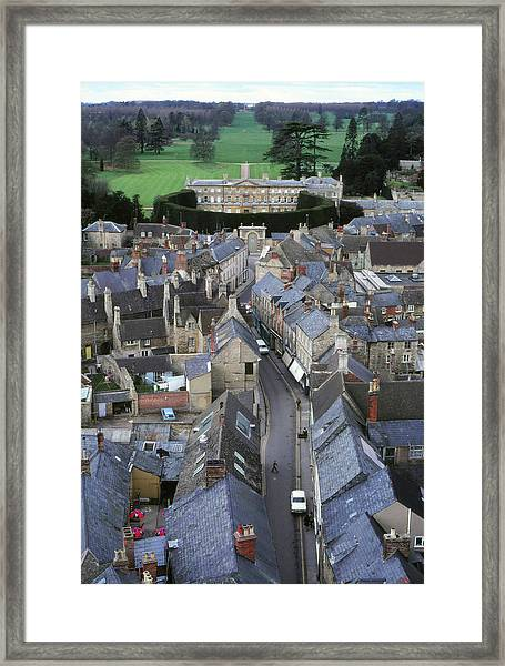Framed Print featuring the photograph Cirencester, England by Samuel M Purvis III