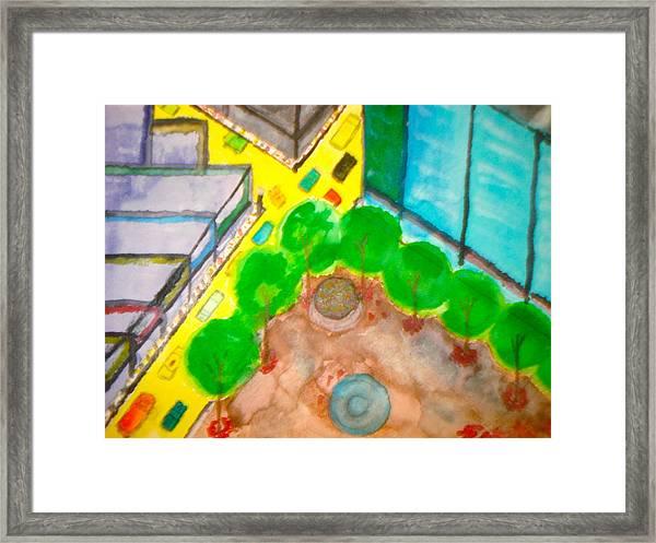 City - 1  Framed Print