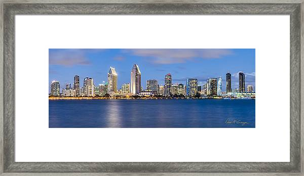 City Beautiful Framed Print