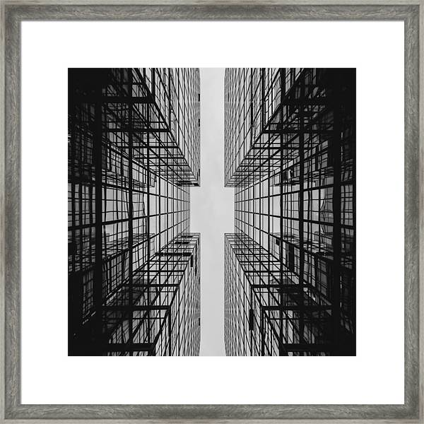 City Buildings Framed Print