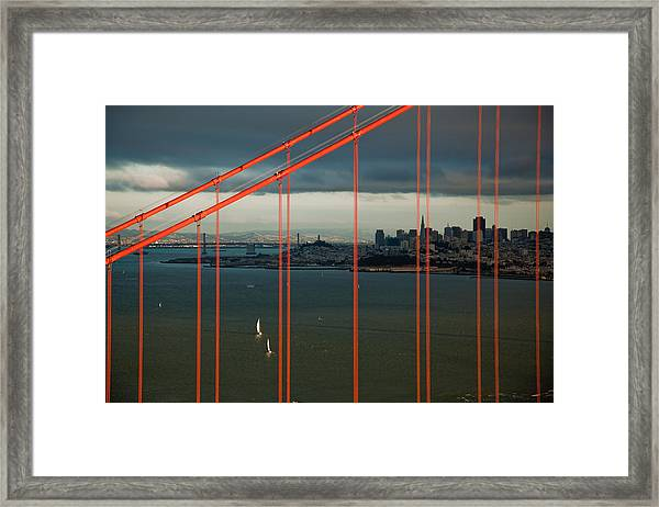 City By The Bay Framed Print by Patrick  Flynn