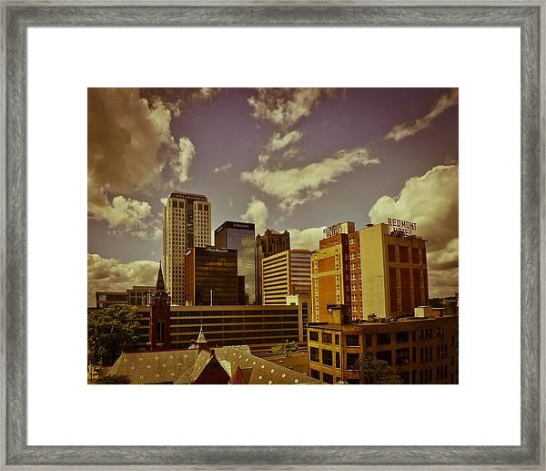 City Center Framed Print