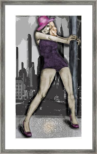 City Dancer Framed Print by Samantha Kulchar