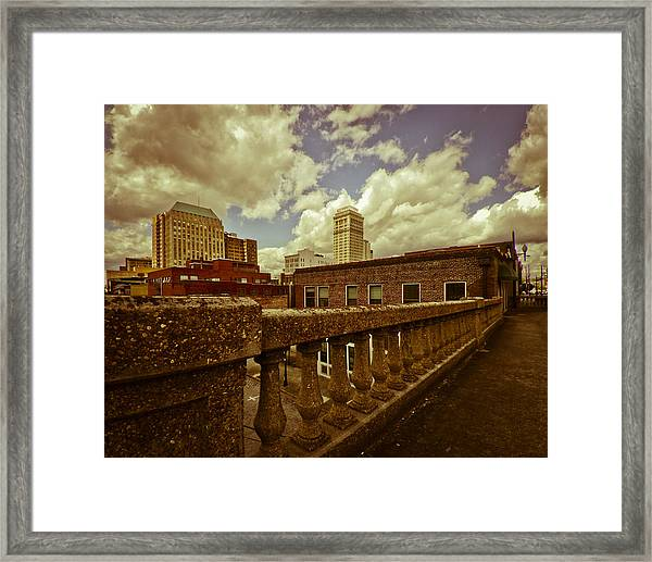 City Federal From The Viaduct Framed Print