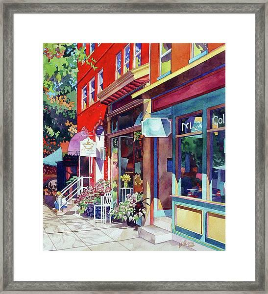 City Flower Framed Print