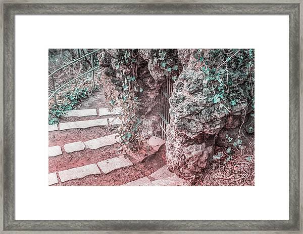 City Grotto Framed Print