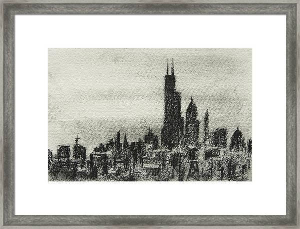 City Love I Framed Print