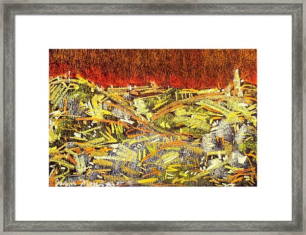 City Of Gold Framed Print by Jason Messinger
